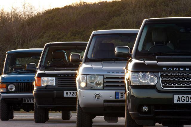 Range Rover obchodzi 40. urodziny