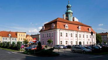 Barokowy ratusz w Rawiczu