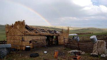 Szałas rumuńskich pasterzy
