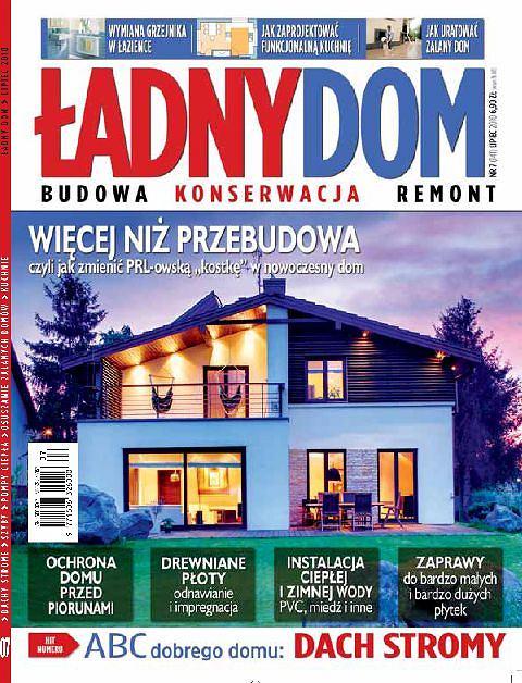 miesięcznik Ładny Dom - numer lipcowy
