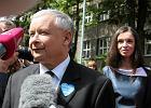 Jaros�aw Kaczy�ski odda� g�os w Warszawie