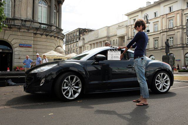 Peugeot RCZ w filmie