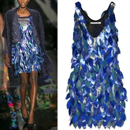 Fokus na sukienk� Diane von Furstenberg