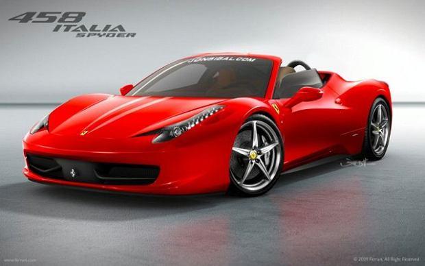 Ferrari 458 ze szklanym dachem