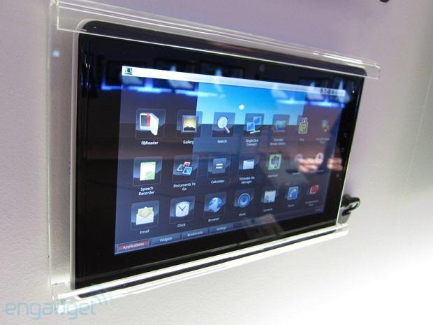 IFA 2010: tablet Folio 100 Toshiby