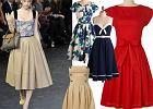 Powrót rozkloszowanych sukienek