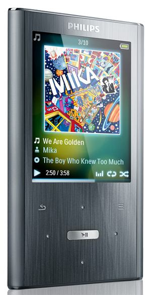 mp3: Philips GoGear ARIAZ