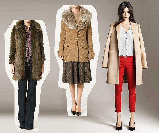 Kolekcja płaszczy Zara na jesień i zimę 2010/11