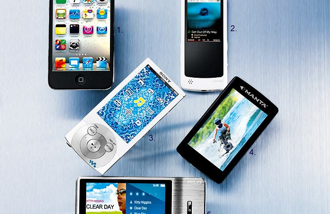 iPod Touch 4G ,Cowon iAudio 9 ,Sony NWZ-A844 ,Manta MM283 ,Philips GoGear Muse