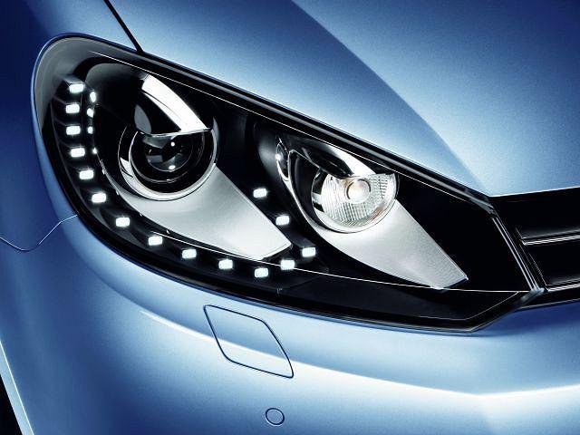 Volkswagen Golf - nowe światła LED