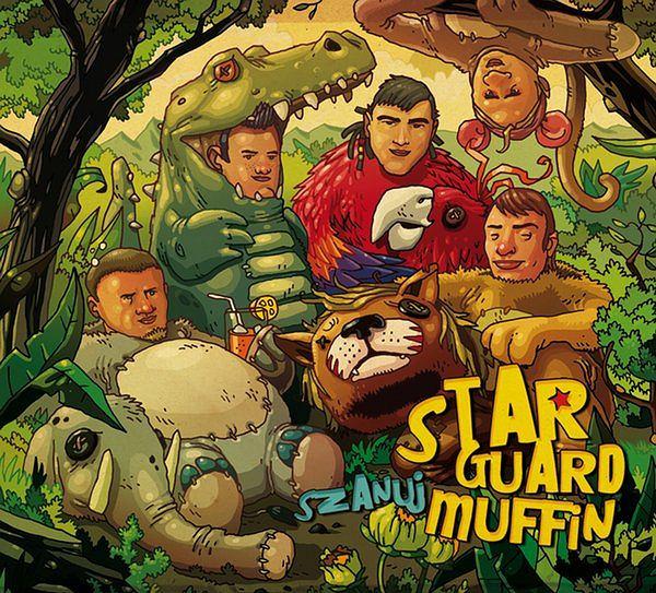 Star Guard Muffin, okładka płyty