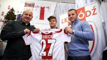 Tomasz Wieszcyki i Tomasz Kłos nowego piłkarza w ŁKS już nie zaprezentują
