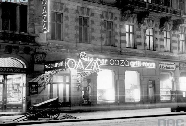 Słynna restauracja Oaza