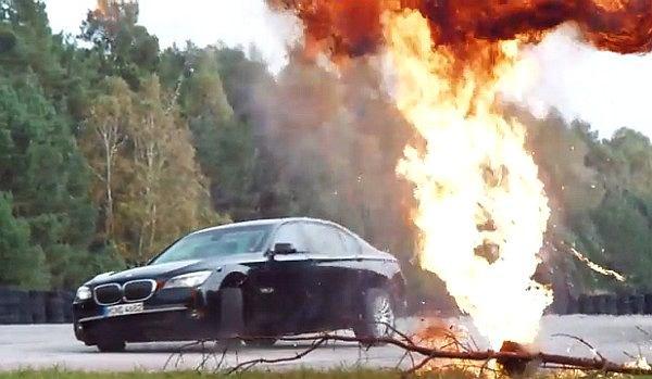 Opancerzone BMW w akcji | Wideo