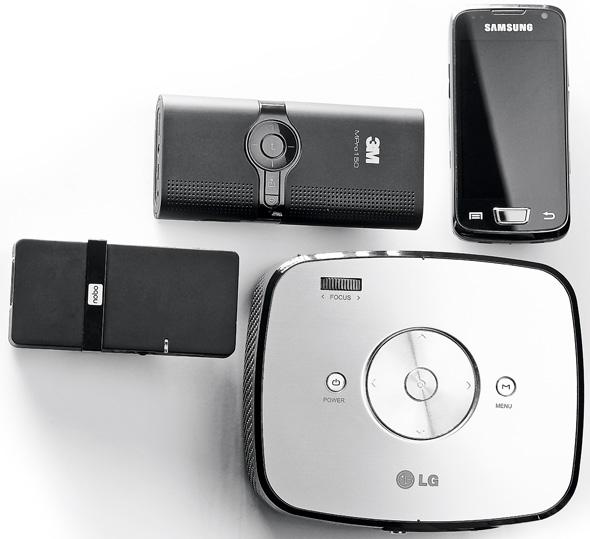 projektor, 3M, Nobo, Samsung, LG
