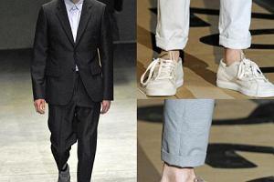 M�skie spodnie - przykr�tkie, ale modne