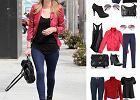 Drożej/taniej: 3 zestawy z czerwoną kurtką w stylu Nicky Hilton