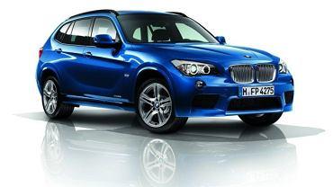 BMW X1 z pakietem aerodynamicznym M Performance