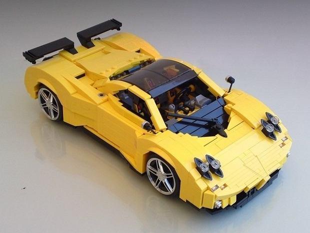 Pagani Zonda 'Lego Edition'