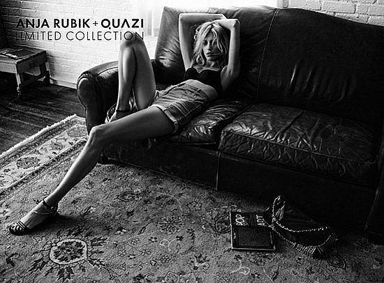 Zdjęcie numer 5 w galerii - Anja Rubik znowu reklamuje Quazi