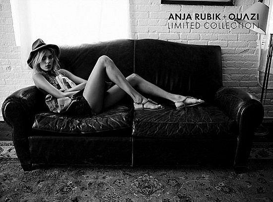 Zdjęcie numer 6 w galerii - Anja Rubik znowu reklamuje Quazi