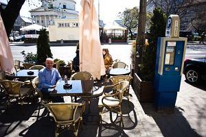 Ogródki kawiarniane nielegalne przed 1 maja?