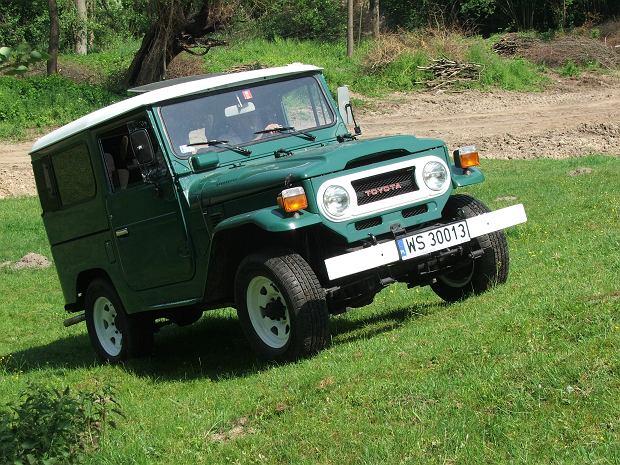 60 lat nap�du 4x4 w samochodach Toyota