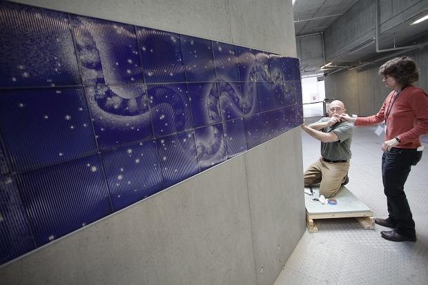 Zobacz yw map nieba w 39 koperniku 39 ruchomy mural for Mural ursynow