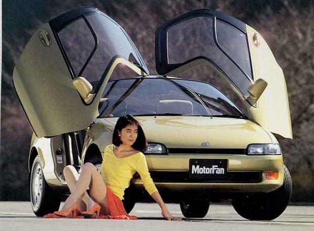 Samochody z innej bajki | Japo�skie minicoupe