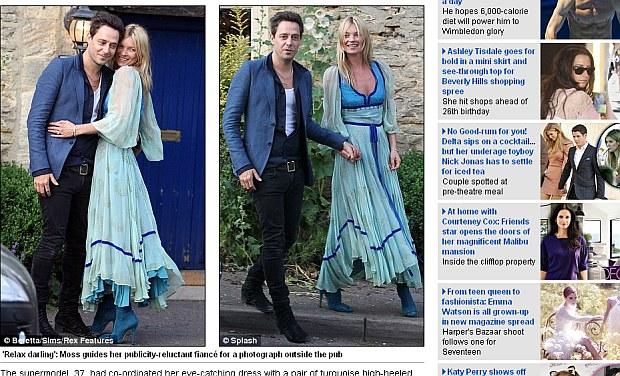 Kate Moss Bierze ślub