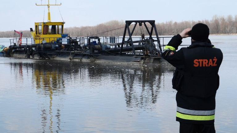W Wiśle na Zawadach utonął kuter
