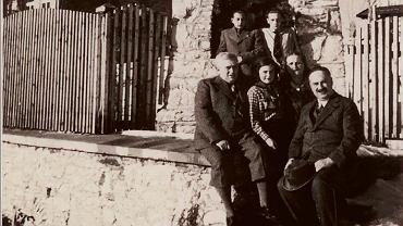 Zdjęcie rodziny sprzed Wichrówki
