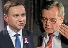 """Duda kandydatem PiS. """"Ten biedny człowiek był zmieszany. I to porównanie do Piłsudskiego... Szczerze mówiąc..."""""""