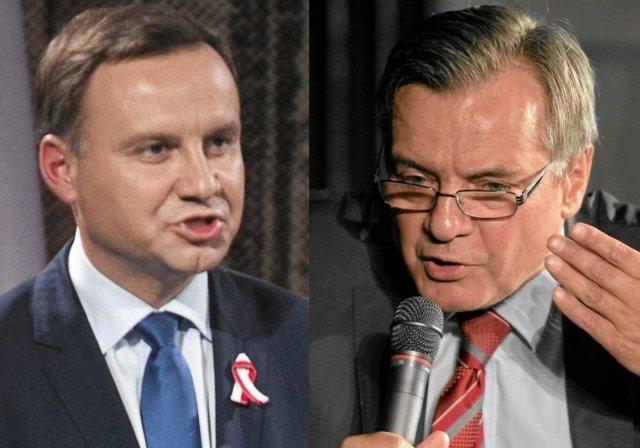 Andrzej Duda, Jerzy Baczyński