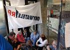 Protest Obywateli RP w Sejmie. Blokada biura przepustek