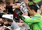 Cristiano Ronaldo i Pepe rozdawali autografy w Opalenicy [WIDEO]