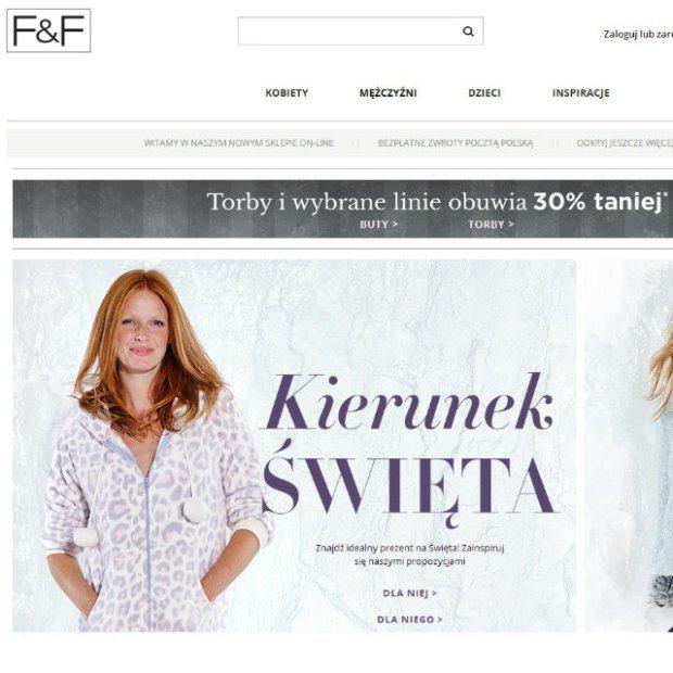 F&F otworzył sklep online!
