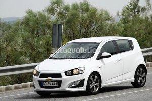 Chevrolet Aveo RS - pr�ba si�