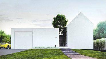 Projekt domu jednorodzinnego  pod Wrocławiem, 2009