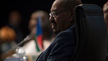 Sudański prezydent Omar el-Baszir na szczycie Unii Afrykańskiej w RPA