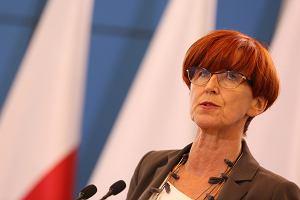 Rafalska: Ministerstwo Pracy chce podwyżki pensji minimalnej do 2100 zł brutto od nowego roku