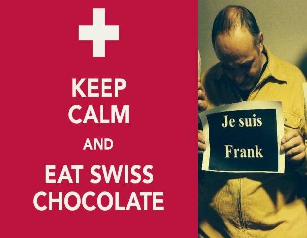Szwajcaria to nowa Grecja? Internet odpowiada na kryzys franka.