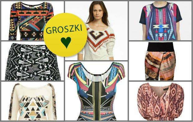 71ac7648b3a12 Zakupy w sieci: ubrania w azteckie printy ze sklepów internetowych
