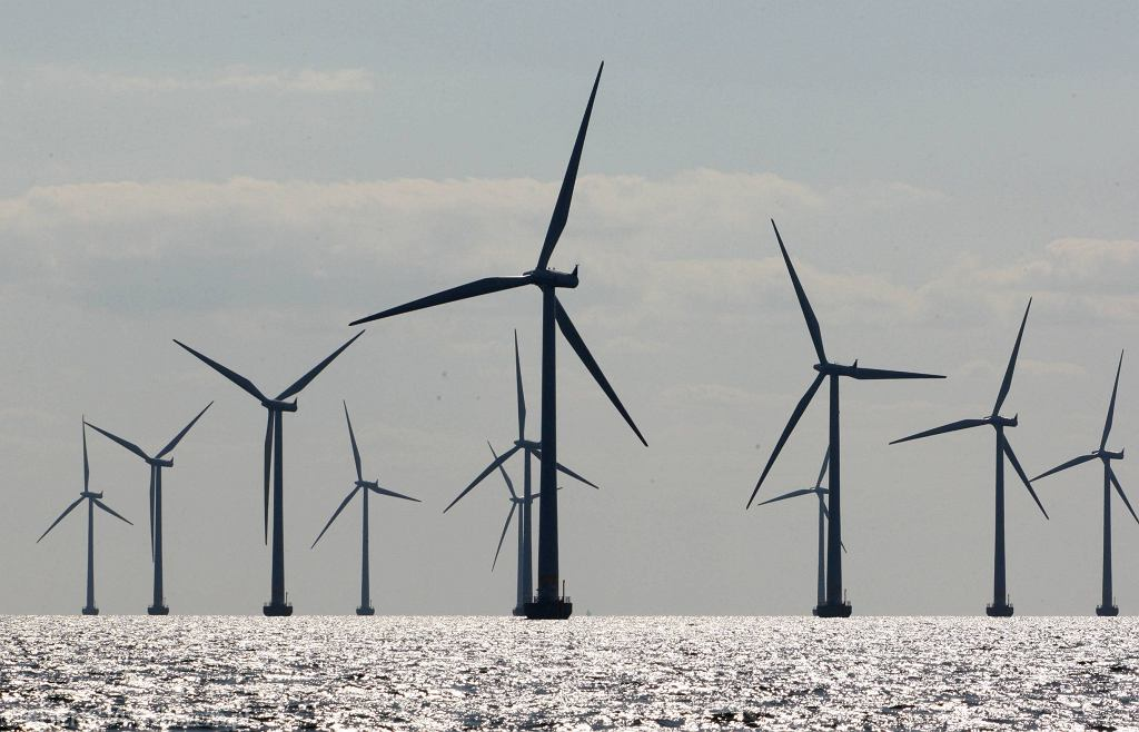 Cieśnina Oresund, duńska elektrownia wiatrowa
