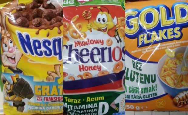 Ile znajdziemy cukru w płatkach śniadaniowych, a ile w jogurtach? Sprawdzamy