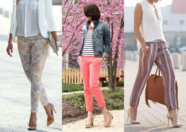 5780b367bc Spodnie na wiosnę - 30 najładniejszych modeli