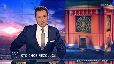 """W niedzielnym wydaniu """"Wiadomości"""" mówiono m.in. o sieci """"resortowych dzieci"""" w Europie"""