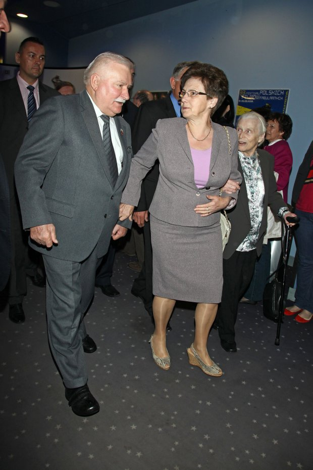 Danuta Wałęsa, Lech Wałęsa