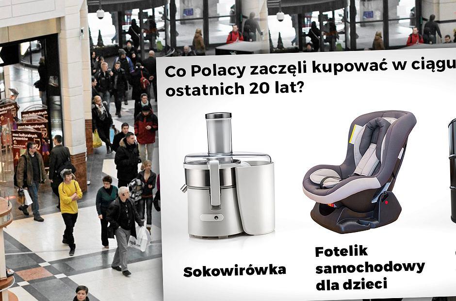 Produkty, które kupują Polacy