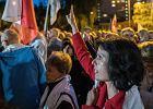 Pikieta pod Sądem Okręgowym w Katowicach w obronie Sądu Najwyższego